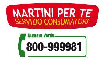Martini Numero Verde Grande