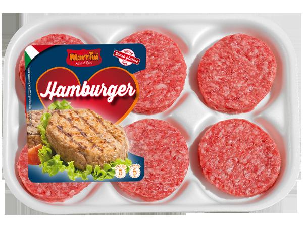 Hamburger classico di Suino