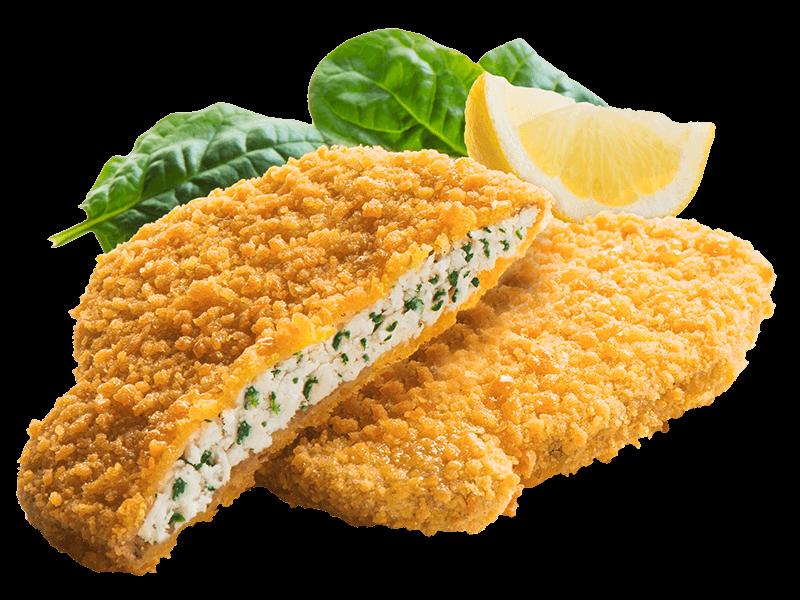 Cotolette di Pollo con spinaci