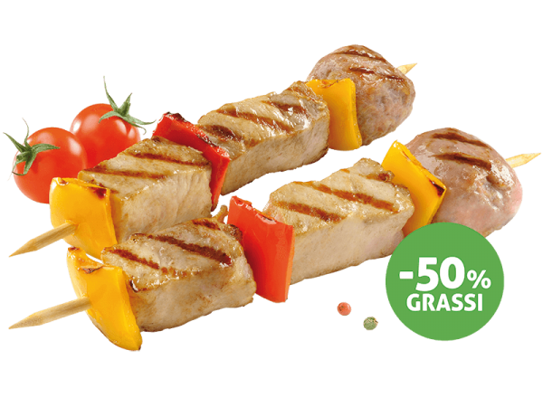 Meat Skewers - 50% fats