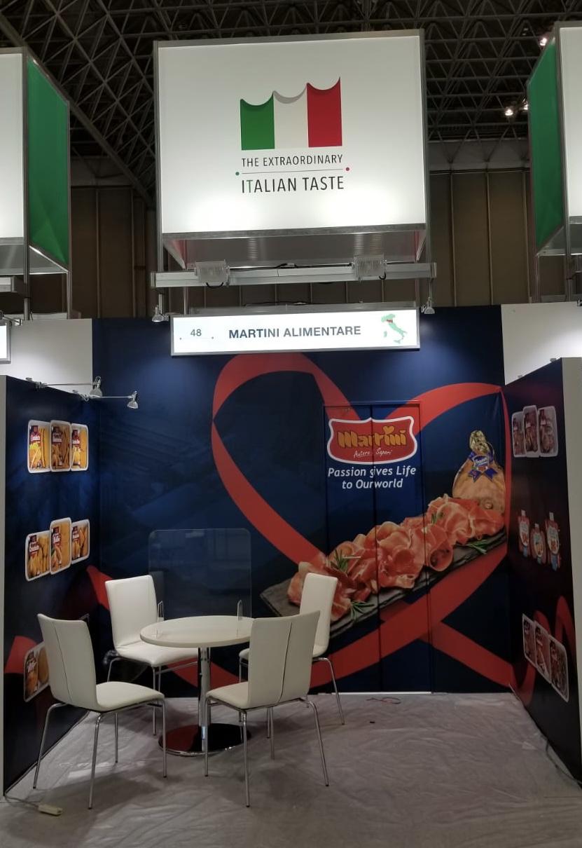 Martini Rappresenterà L'Italia Al Foodex Japan